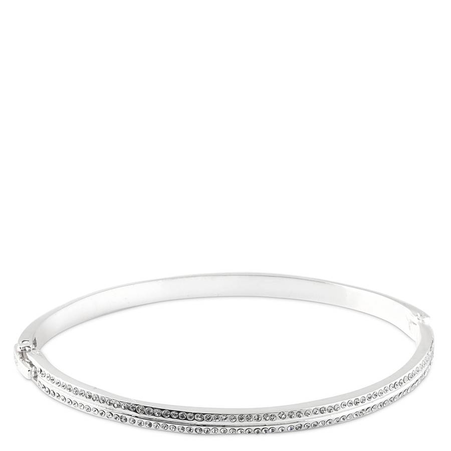 Snö of Sweden Carrie Oval Bracelet – Silver/Clear