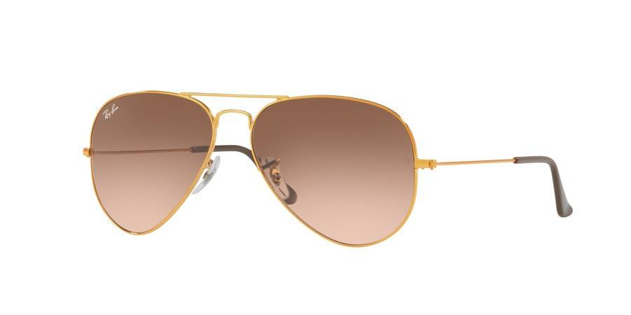 Ray Ban 9001A558 Gold/Brown