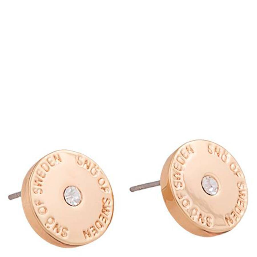 Snö Of Sweden Harly Small Earring 10 mm ? Rosé/Clear