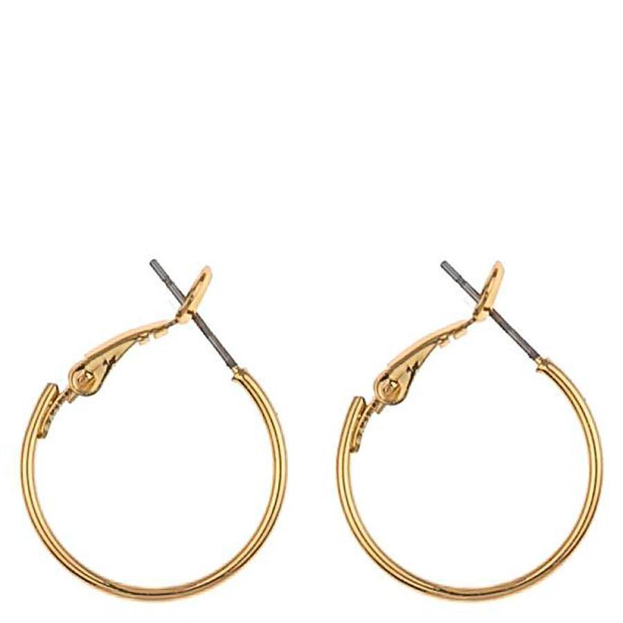 Snö Of Sweden Mystic Small Ring Earring 20 mm ? Plain Gold