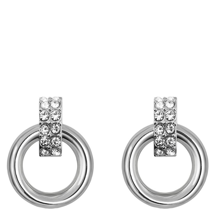 Snö Of Sweden Adara Small Earring – Silver/Clear