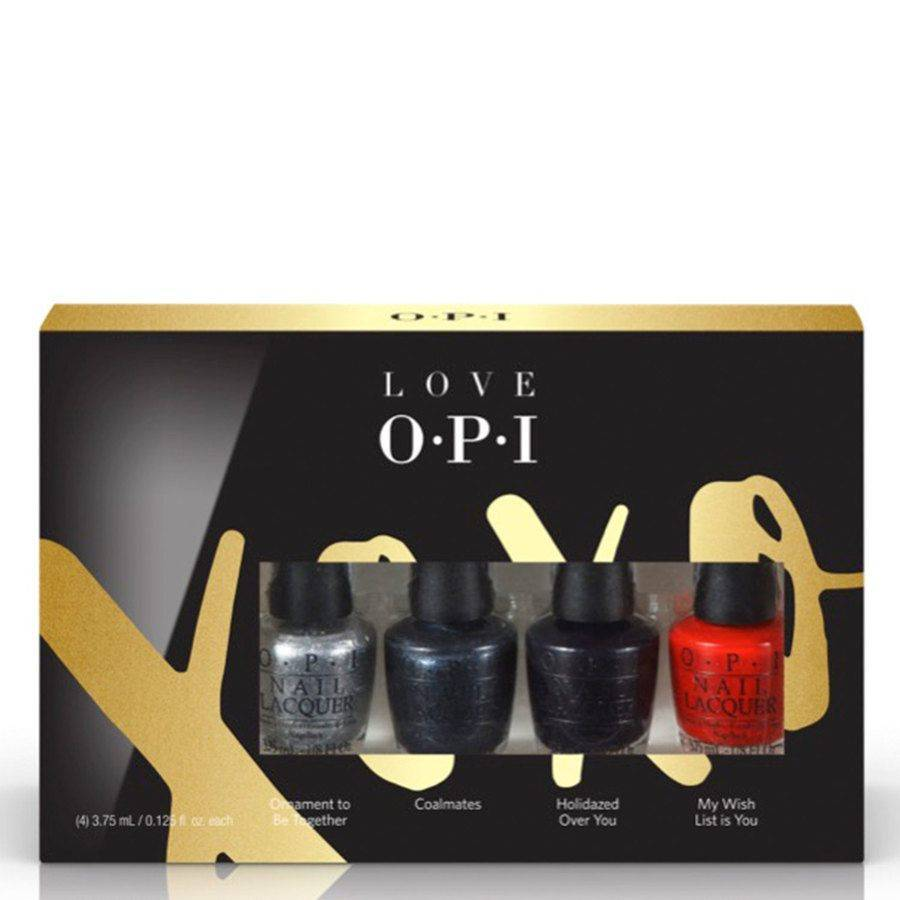 OPI Holiday Collection Mini 4 Pack 4 x 3,75ml
