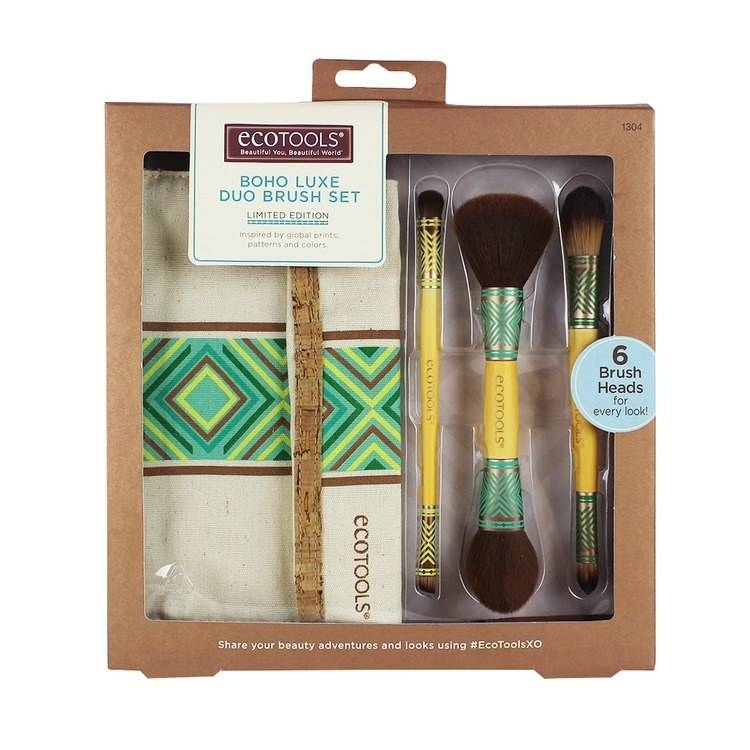 Eco Tools Boho Luxe Duo Brush Set Limited Edition (4 osaa)