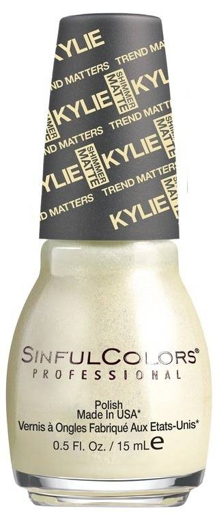 Kylie Jenner Sinful Colors Nail Polish 15 ml – Butter Kup #2088