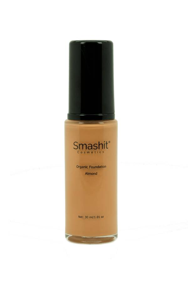 Smashit Cosmetics Organic Foundation Almond 30ml