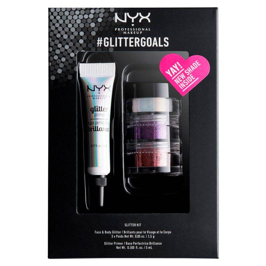 NYX Professional Makeup Limited Edition #GLITTERGOALS - Kit 03