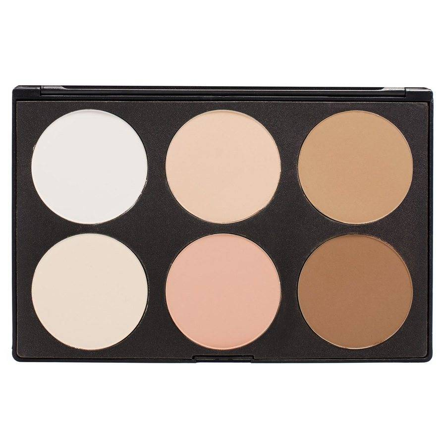 Smashit Cosmetics 6 Color Contour Powder Palette – Light Skin Mix 1