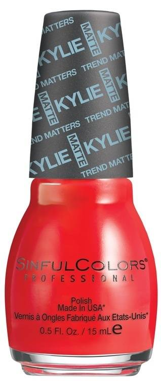 Kylie Jenner Sinful Colors Nail Polish 15 ml – Holly-Wood #2132