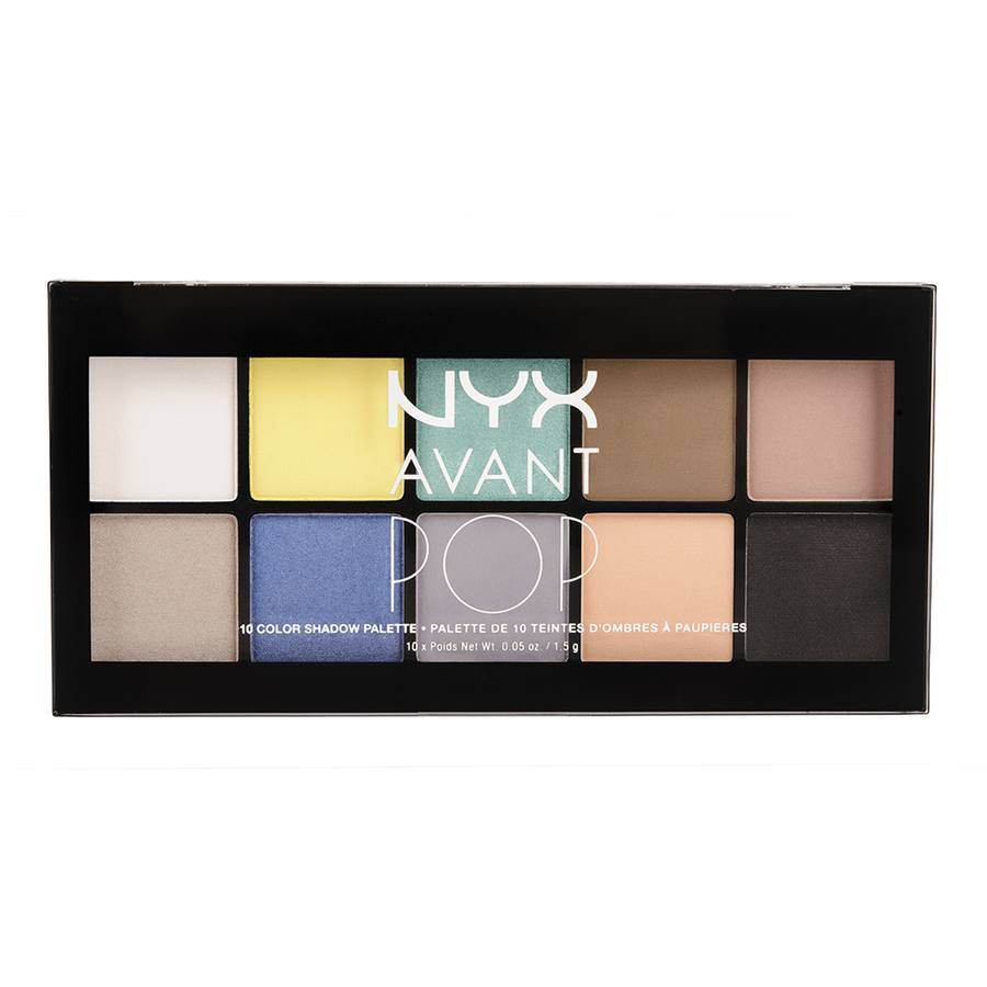 NYX Avant Pop 10 Color Shadow Palette My Heart 10x1,5g