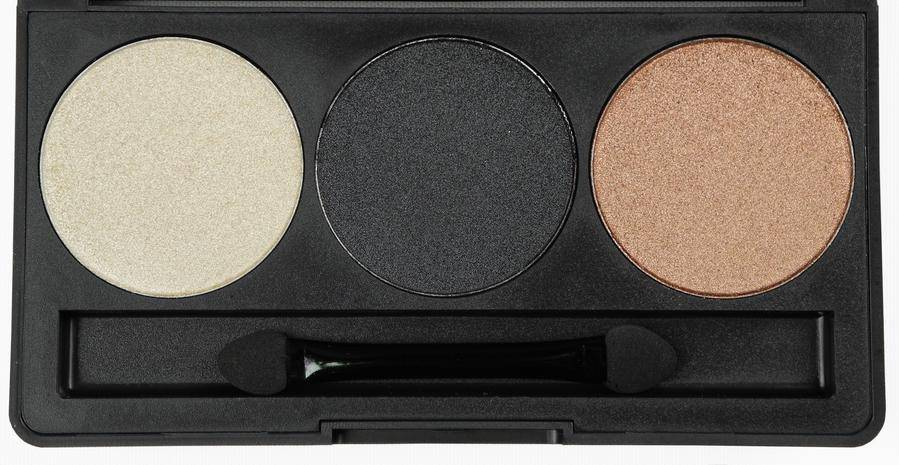 Smashit Cosmetics 3 Color Smoky eyeshadow palette