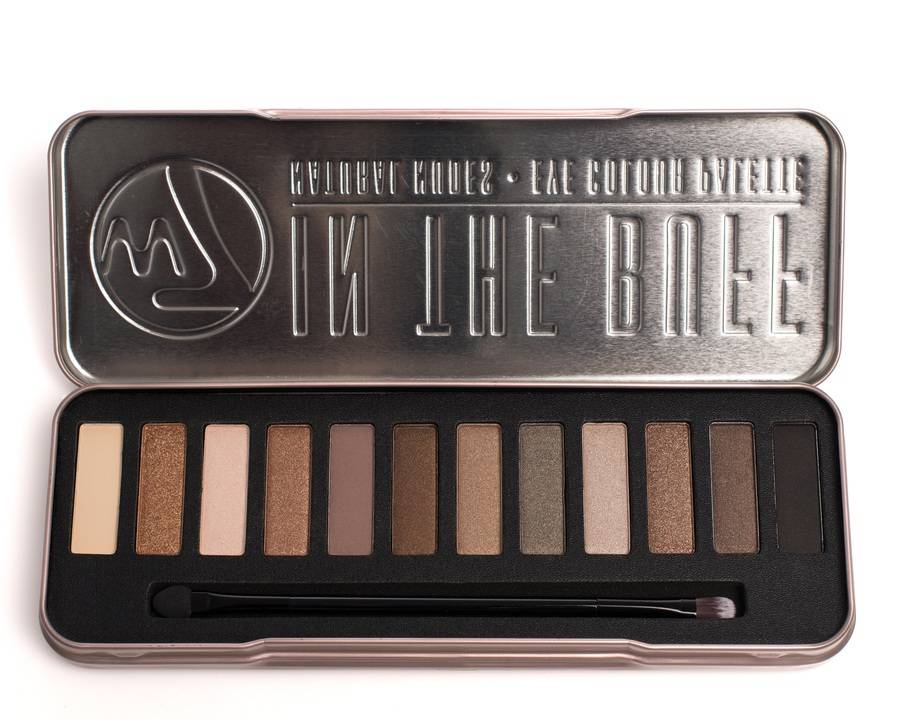 W7 Cosmetics Eye Colour Palette In The Buff