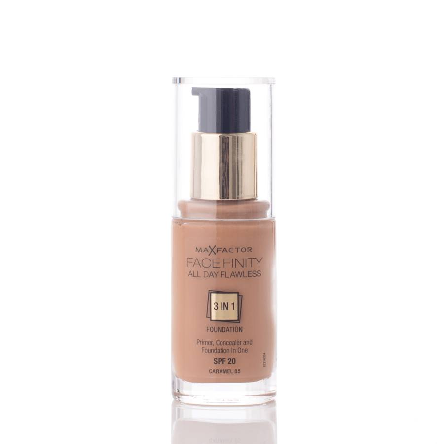 Max Factor Face Finity 3 In 1 Foundation 30 ml 85 Caramel