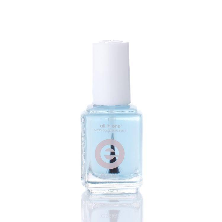 Essie All In One 3-way Glaze Base, Strenghtener And Top Coat 13,5 ml