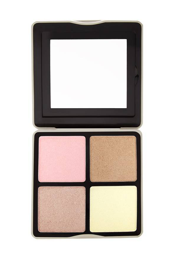bh Cosmetics Nude Rose Highlight 4 Color Highlighter Palette
