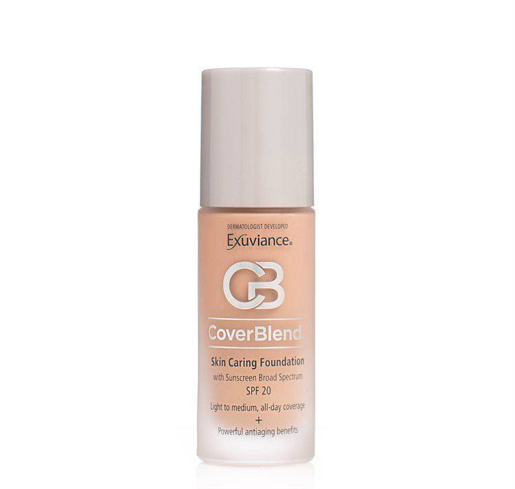 Exuviance CoverBlend Skin Caring Foundation SPF 20 30 ml – Natural Beige