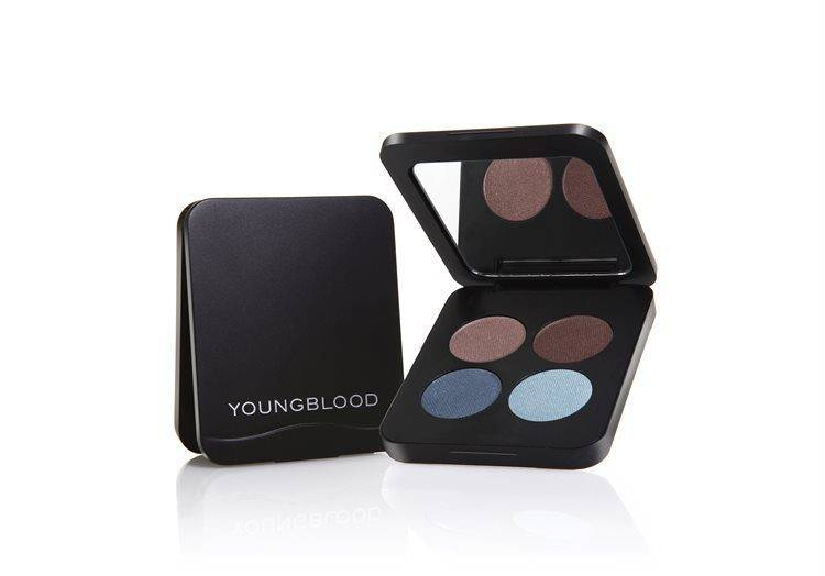 Young Blood Youngblood Pressed Mineral Eyeshadow Quad 4 g – Glamour Eyes