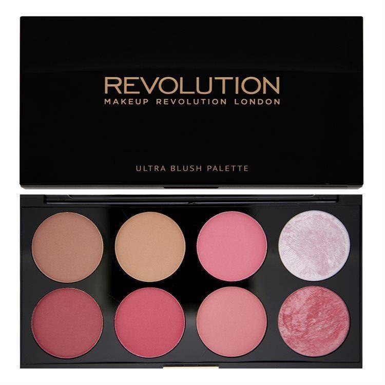 Makeup Revolution Ultra Blush Palette 13 g Sugar and Spice