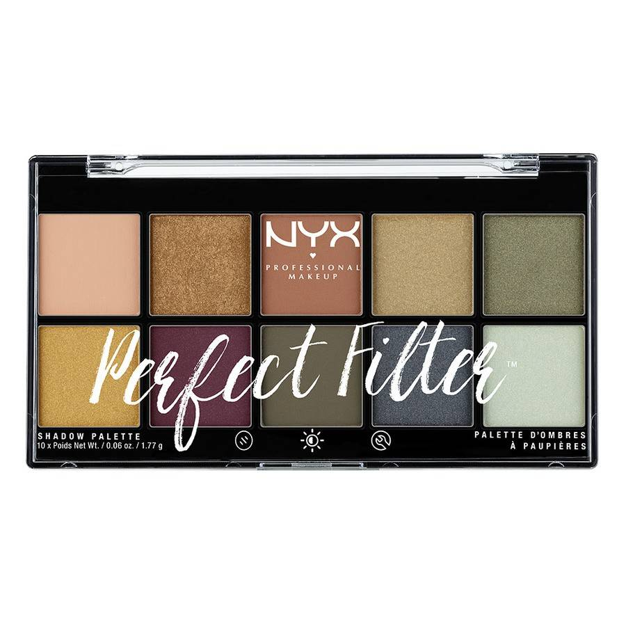 NYX PROFESSIONAL MAKEUP NYX Prof. Makeup Perfect Filter Shadow Palette