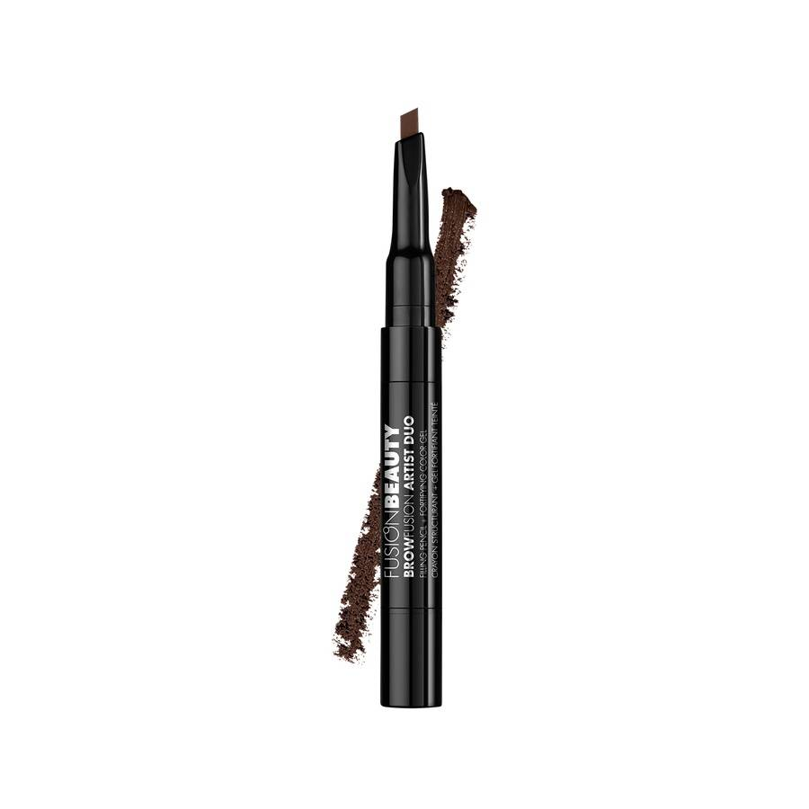 Fusion Beauty BrowFusion Artist Duo Filling Pencil + Color Gel 2,9 g – Brunette