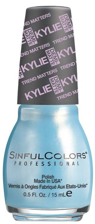 Kylie Jenner Sinful Colors Nail Polish 15 ml – Kurtain Kall #2084