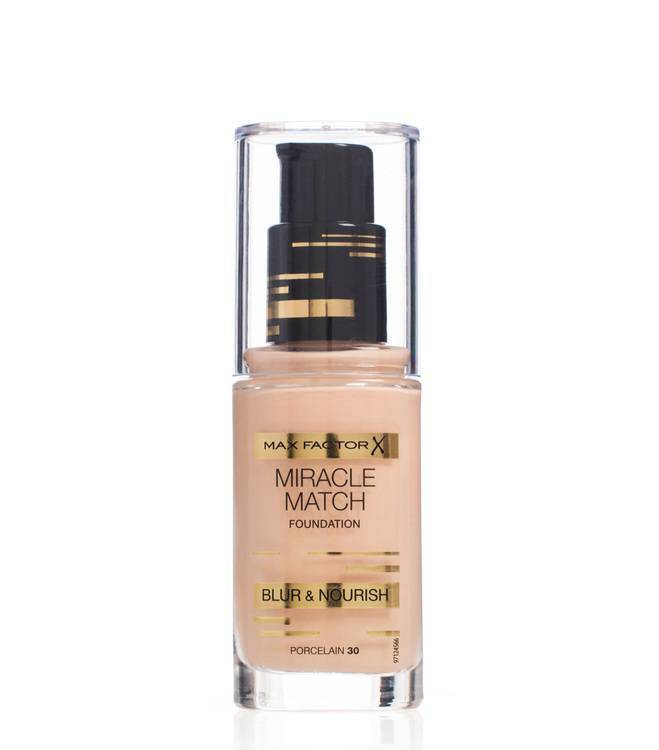 Max Factor Miracle Match Foundation – Porcelain 030
