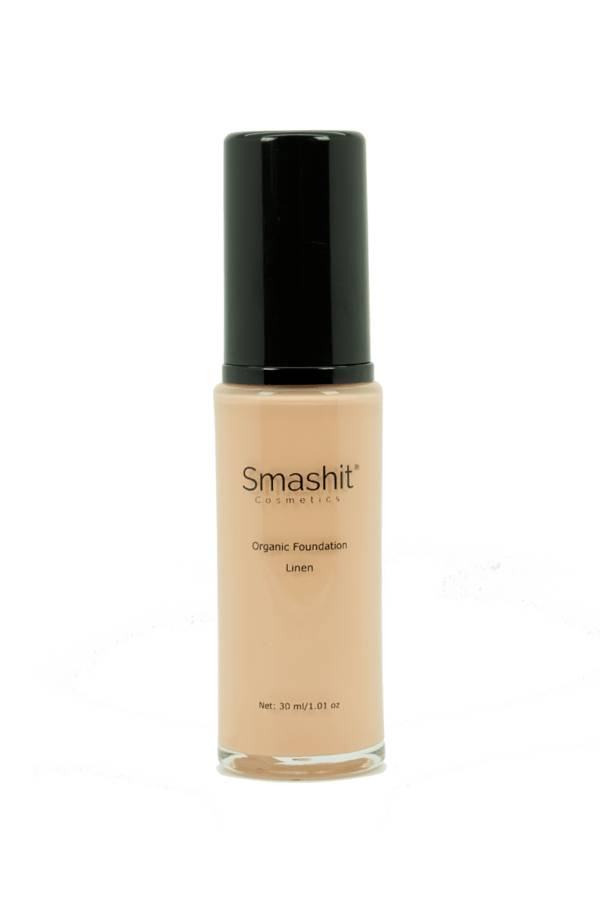 Smashit Cosmetics Organic Foundation Linen 30 ml