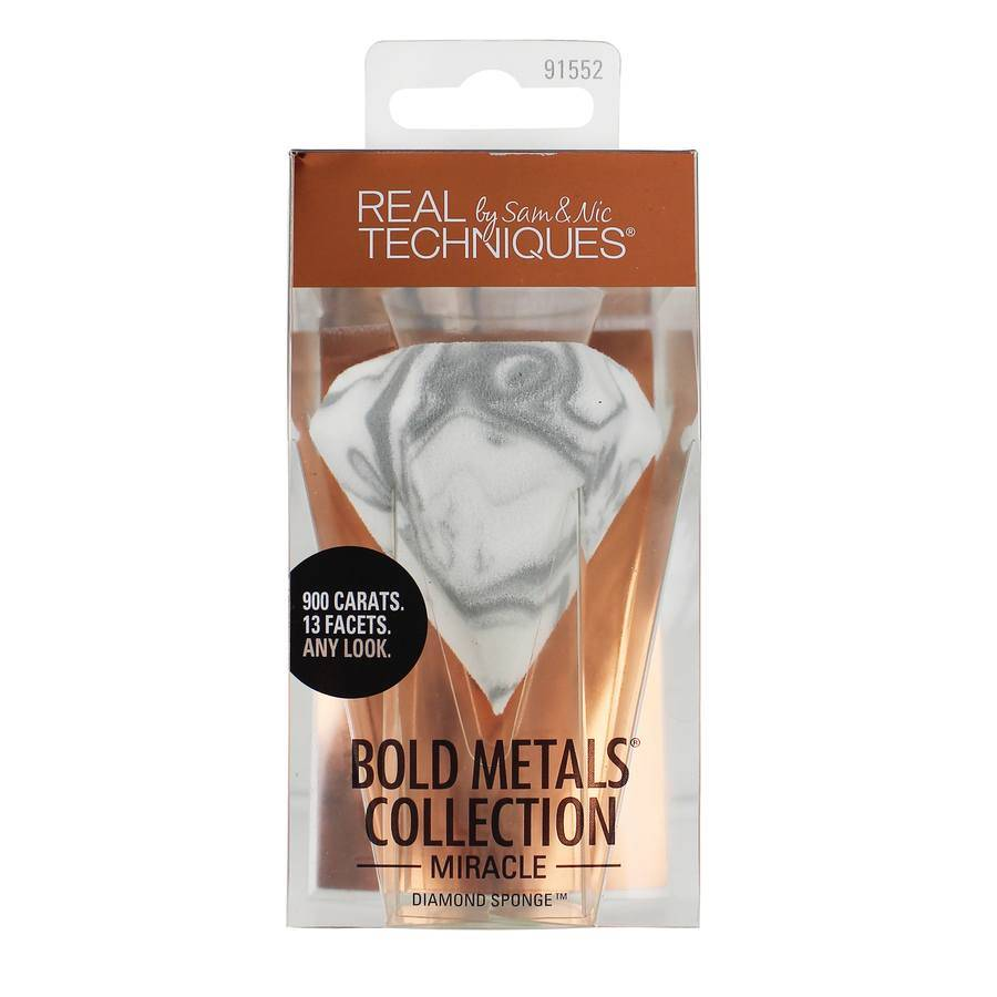 Real Techniques Bold Metals Miracle Diamond Sponge