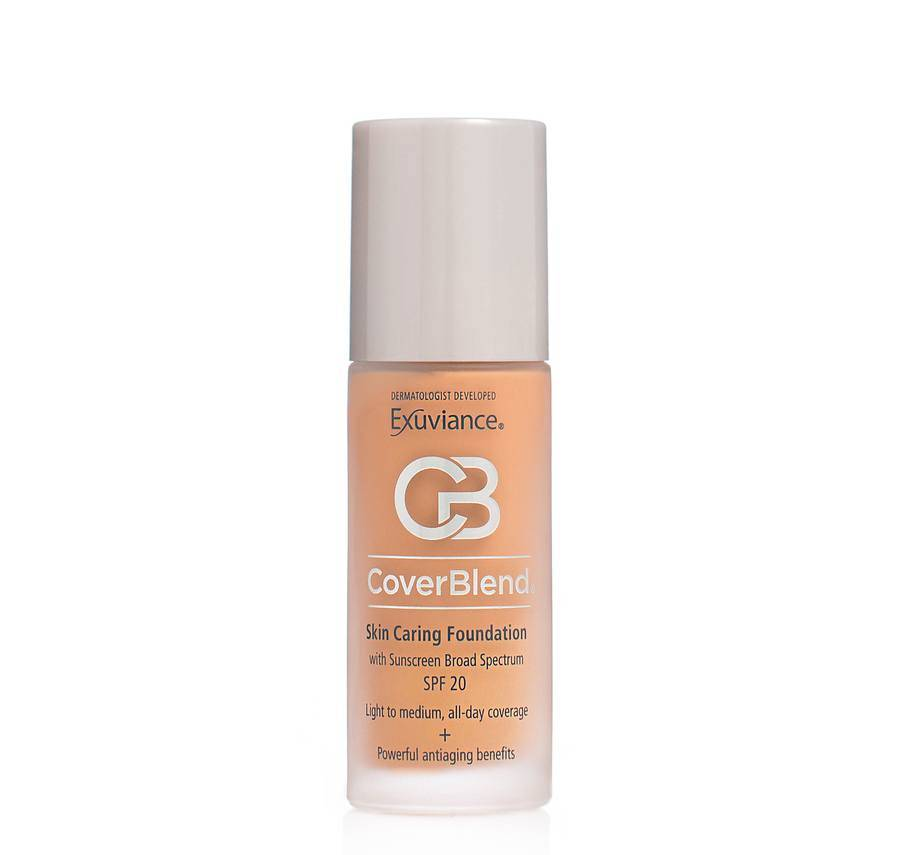 Exuviance CoverBlend Skin Caring Foundation SPF 20 30 ml – Desert Sand
