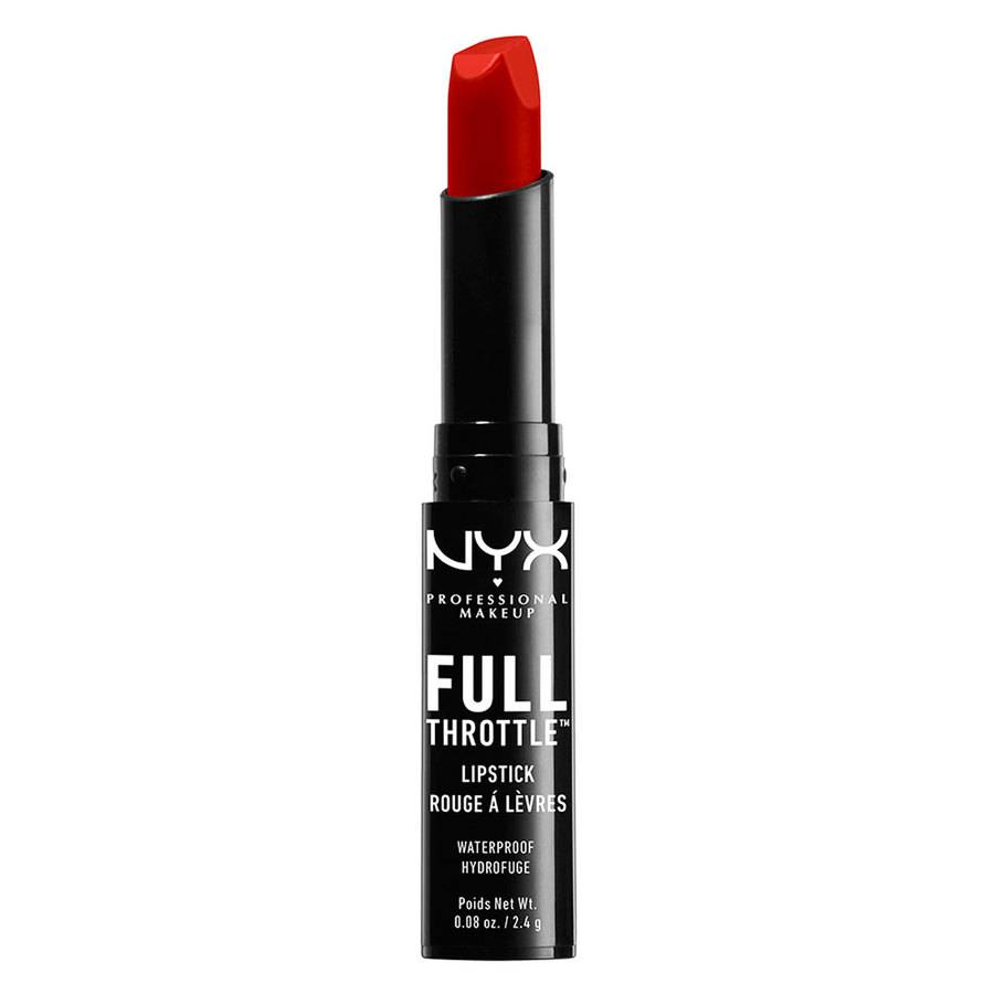 NYX Professional Makeup Full Throttle Lipstick – Up the Bass FTLS08