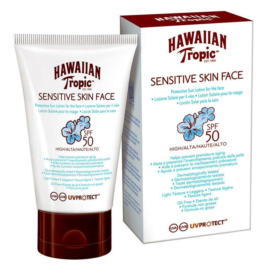 Hawaiian Tropic Sensitive Face Protective Lotion SPF50 60 ml