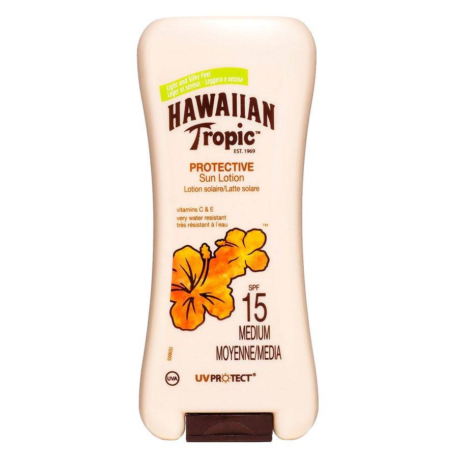 Hawaiian Tropic Satin Protection Lotion SPF 15 200 ml