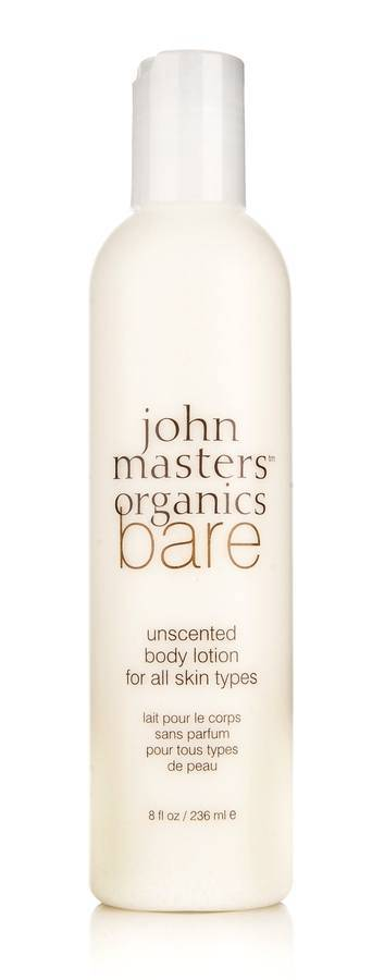 John Masters Organics Bare Unscented Body Lotion for All Skin Types 236 ml