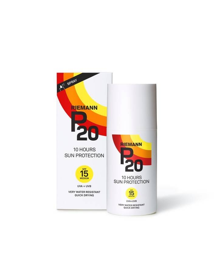 Riemann P20 10 Hours Sun Protection Spray SPF 15 200 ml