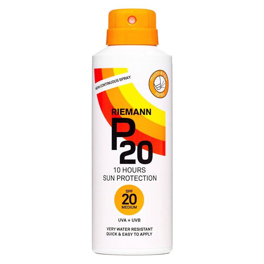 Riemann P20 10 Hours Sun Protection Spray SPF 20 150ml