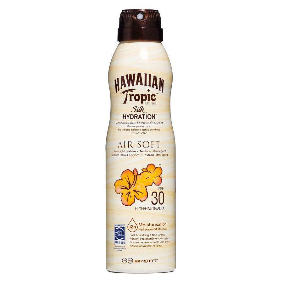 Hawaiian Tropic Air Soft Dry Oil Continuous Spray SPF 30 177ml