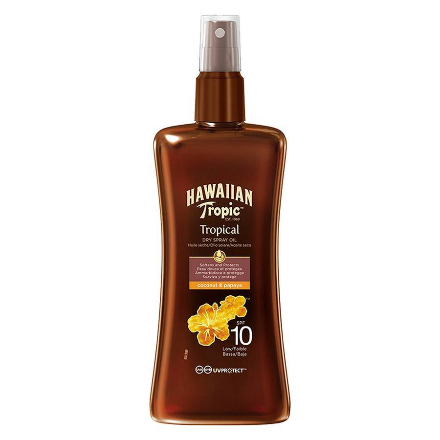Hawaiian Tropic Protective Dry Spray Oil SPF 10 200 ml