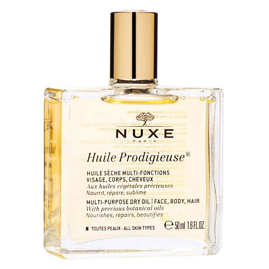 NUXE Huile Prodigieuse Multi-Purpose Dry Oil Face, Body, Hair 50 ml