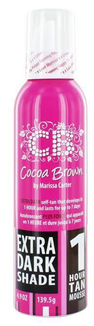 Cocoa Brown by Marissa Carter 1 Hour Tan Mousse 150m – Extra Dark Shade