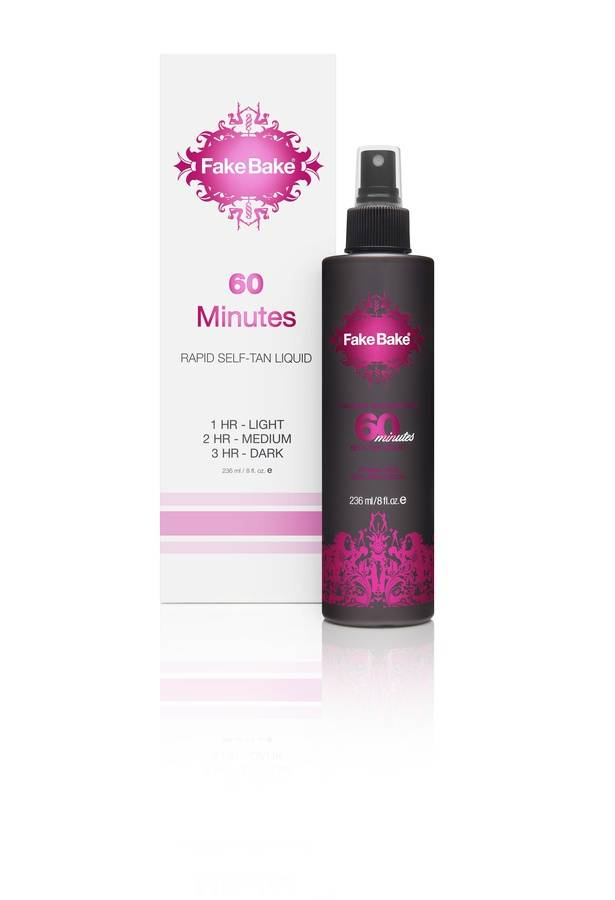 Fake Bake 60 Minutes Self-Tan Liquid & Professional Mitt 236 ml