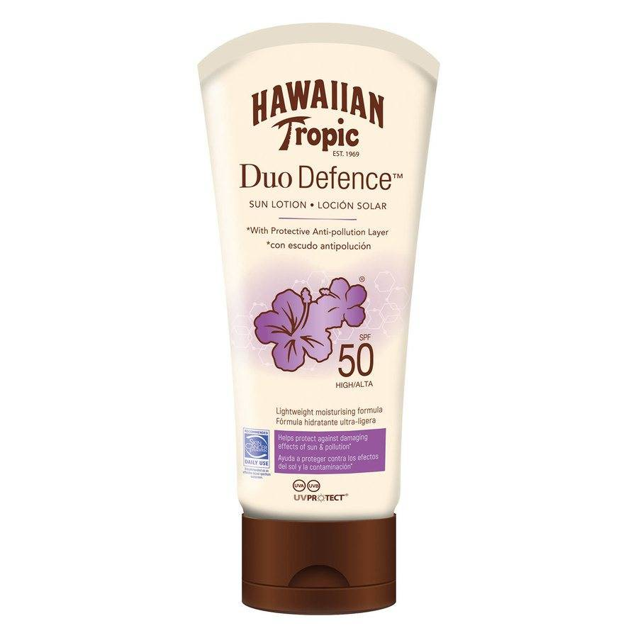 Hawaiian Tropic DuoDefence Sun Lotion SPF50 180 ml