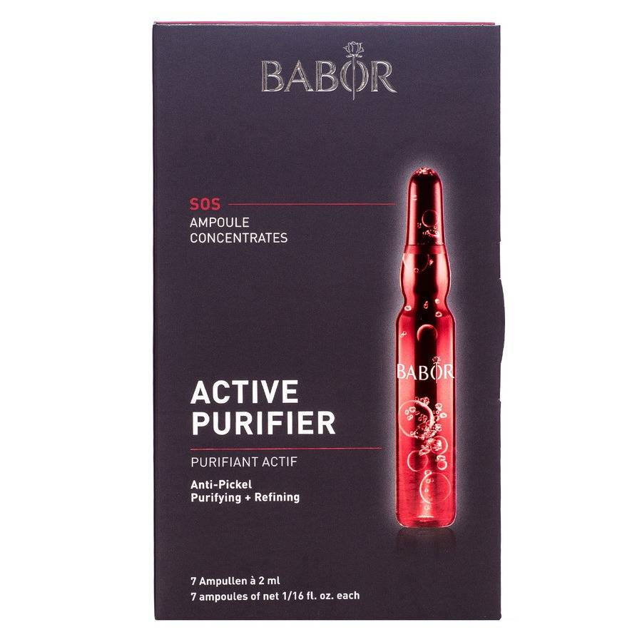 Babor Ampoule Concentrates Pure Purifying Active Fluid 7 x 2 ml