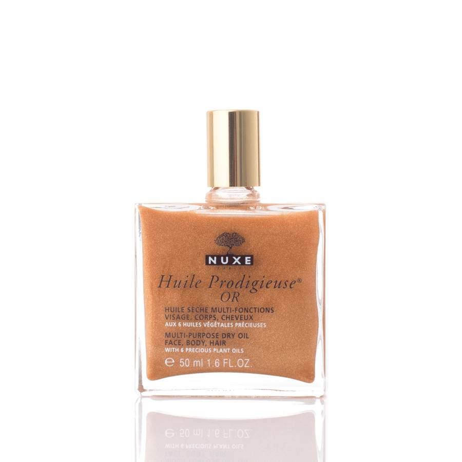 NUXE Huile Prodigieuse OR Multi-Purpose Dry Oil Face, Body, Hair 50 ml
