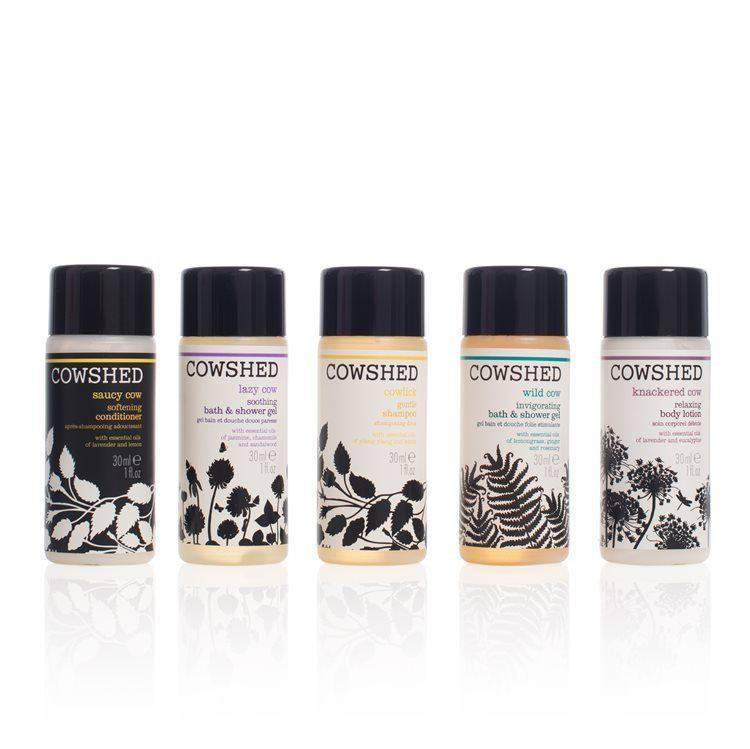 Cowshed Pocket Cow Bath & Body Collection (5 osaa)