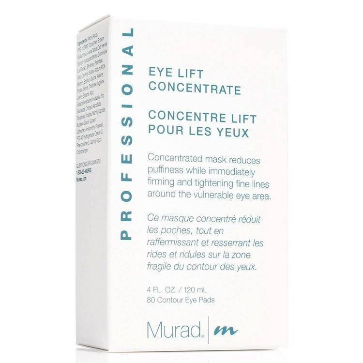 Murad Eye Lift Concentrate 120ml + 80 contour pads