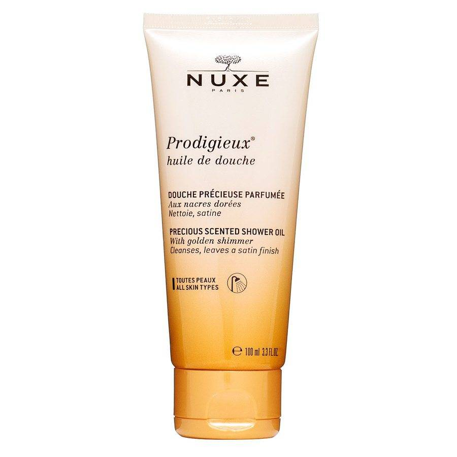 NUXE Prodigieux® Precious Scented Shower Oil Golden Shimmer 100ml
