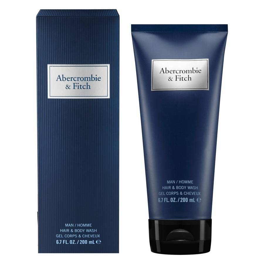 Abercrombie & Fitch First Instinct Blue Men Hair And Body Wash 200 ml