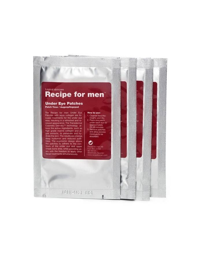 Recipe for Men Under Eye Patches 4 paria