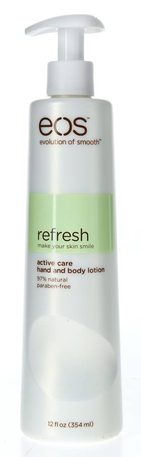 EOS Evolution of Smooth Refresh Make Your Skin Smile Hand And Body Lotion 354 ml