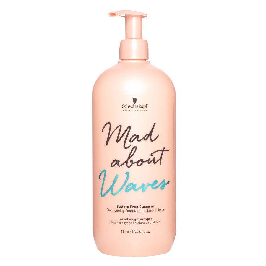 Schwarzkopf Mad About Waves Sulfate Free Cleanser 1 000 ml