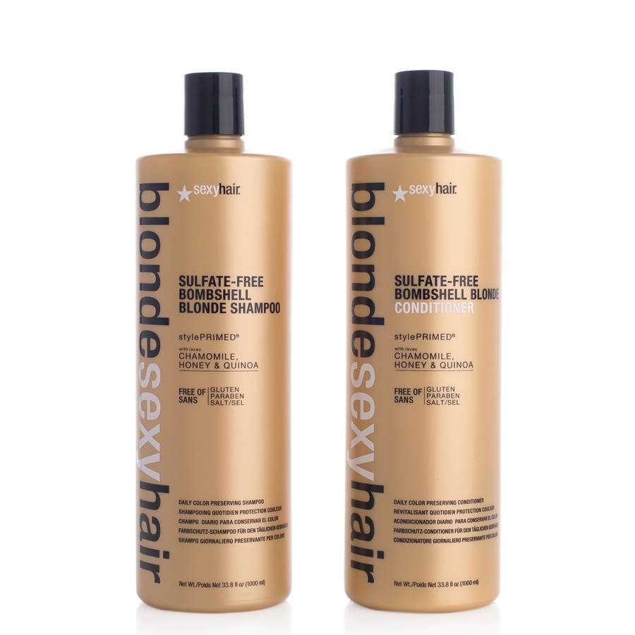 SEXY HAIR Blonde Sexy Hair Shampoo and Conditioner 2 x 1000ml (duo)